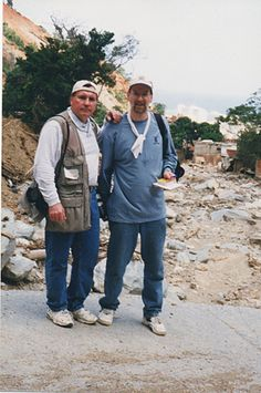 Photojournalist Gary Fandel and I traveled to Venezuela in 2000 to report for the Des Moines Register on a disaster relief mission.