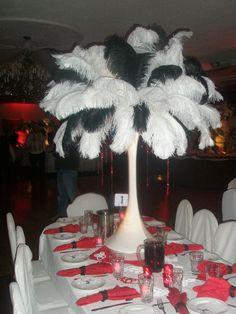 peacock feathers, sixteen idea, sweet 16, centerpiec, parties, bridal shower, parti idea, sweet sixteen, sixteen parti