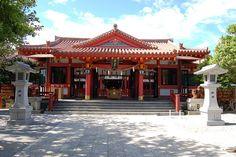 Naminoue Shrine. Okinawa