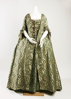 Robe a la Francaise, 1750-75, French - the MET