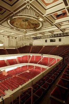 Enjoy world-class acoustics at Music Hall