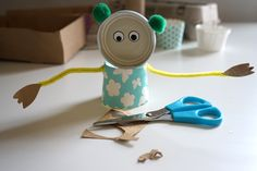 Found Object Art | Junk Critters | Art and Science Experiments