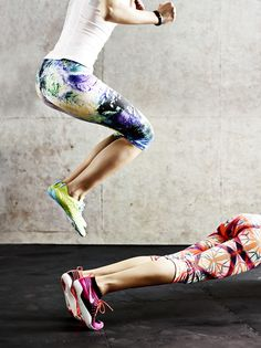 Wake up your workout. Say hello to summer with our season's hottest prints. Vibrant patterns and bold colors keep you looking and feeling cool during your workout.