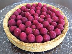 Paleo, low carb, grain free, dairy free, egg free and refined sugar free Mix-Berry Tart With Coconut Whipped Cream