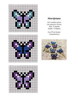 mariposa butterfli, bead patterns, perler bead butterfly, perler beads, papillon, butterfly hama beads, hama beads butterfly, hamabead, hama beads patterns