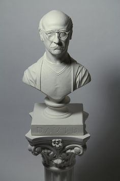 Bust of Larry David from Curb Your Enthusiasm - 1/8 scale