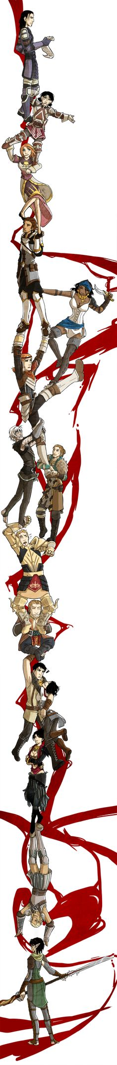 Durarara ED - Dragon Age style by =Cah3thel on deviantART. Beautiful!! **Ooh, sorry for the DA spam, I'll stop now...