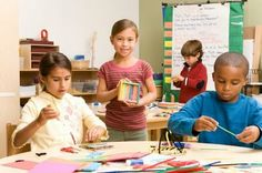 Montessori Classroom Activity Ideas for the First Day of School: Here are some ideas to help break the ice and bridge the gap between summer, home, and school. art classroom, art crafts, idea, school, craft suppli, elementary art, arts integration, teacher resources, kid
