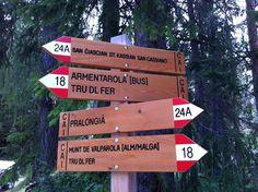 Val Badia, trekking