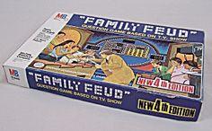 | Family Feud, 4th Edition, Milton Bradley, (Vintage Games - Pre ...