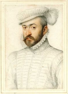 Portrait of an Unknown Man By Francois Clouet