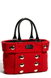 GORGEOUS!...kate spade red tote