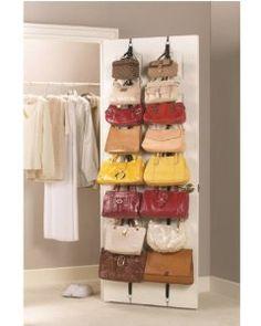 Jokari Purse Rack - Hanging Handbag Organizer - Set of 2 --- http://www.pinterest.com.welik.es/5je