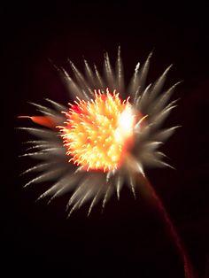 fireworks 2 sec exposure