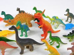 Give your prehistoric creatures a new life as part of T/m's Toytisserie.