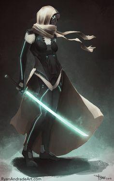 Lady by GloriousRyan.deviantart.com on @deviantART #sci-fi