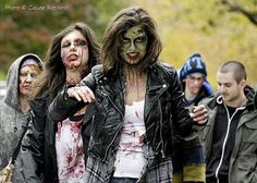 Learn how to photograph zombies. A very important and handy skill!