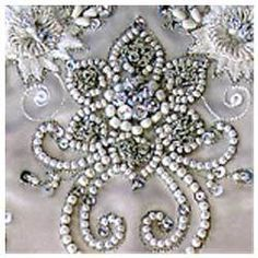 Embroidery Beads On Pinterest