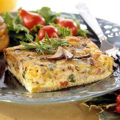 Mushroom-and-Egg Casserole