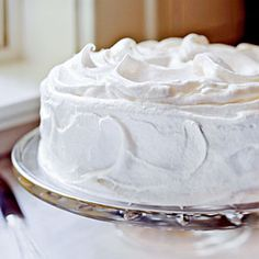 Meringue... as fluffy as clouds