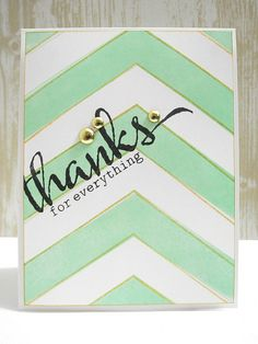 Thanks for Everything by Jennifer Ingle using @winniewalter stamps.