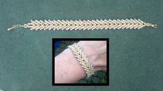 Video from Beading4perfectionists. Basic St. Petersburg bracelet  #Seed #Bead #Tutorials