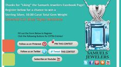 I just entered the Samuels Jewelers' 'Fall Into Fashion' Contest. Click this Pin to see how to enter to win a a Sterling Silver Emerald Cut Blue Topaz Pendant