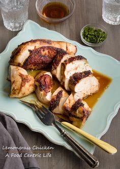 Thai Lemongrass Roasted Chicken