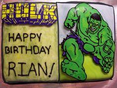 octob birthday, birthday parti, birthday idea, birthday bct, hulk birthday