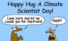 Happy Hug a Climate Scientist Day | Oxfam Australia