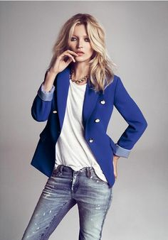 Blazers are Outfit Game-changers - add ANY CAbi blazer to the Ruby Jean and Eliza Blouse - PERFECT!