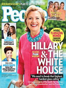 Hillary Talk: That's Not a Walker on the Cover of People Magazine!
