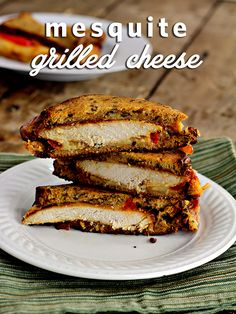 Mesquite Chicken Grilled Cheese Sandwich!  YUMMO!