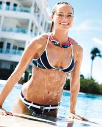 Full-body pool workout - no swimming required