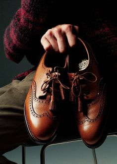 Crockett & Jones, #men brown #shoes.