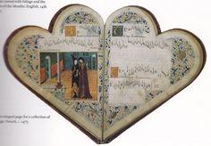 French music book c. 1475 #illuminatedmanuscript
