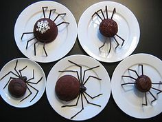 spider cakes- these are awesome