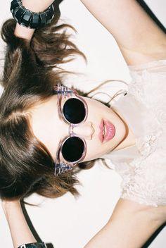 Dreamy glasses.