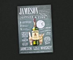 Jameson Scotch Whiskey by Coming Soon , via Behance