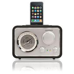 Crosley Radio  Retro Gear with a Techie Twist  iSolo Radio With Dock