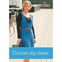 Crochet Slip Dress Small to X-large