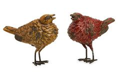 S/2 Tuscan Birds on OneKingsLane.com tuscan bird