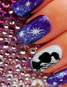 Fairy Themed Nail Art