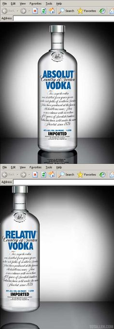 Absolut Vodka #css
