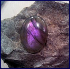 Purple Labradorite calibrated cabochon