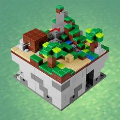 LEGO Minecraft Micro World Available for Preorder.....so cool! For Adam!