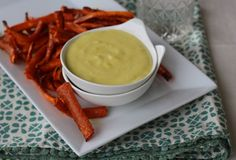 PaleOMG – Paleo Recipes – Carrot Fries  without the sauce.  I think these would be fun to try.