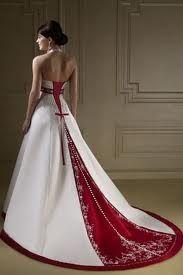 Valentine's Day wedding gown