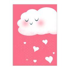 'Showered with love' babi showerparti, greet card, tracey shower, lisa hunt, hunts, greeting cards, shower idea, kaysen babi, illustr
