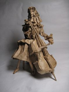 Cellist 1.1 by Leo.Lai, via Flickr